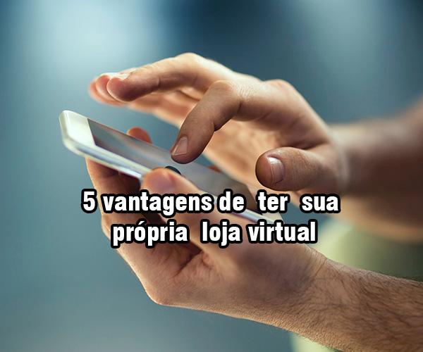 5 vantagens de ter sua própria loja virtual